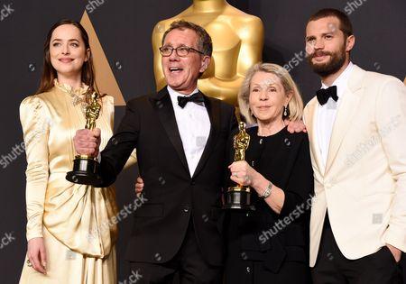 Dakota Johnson, Jamie Dornan, David Wasco and Sandy Reynolds-Wasco - Production Design - 'La La Land'