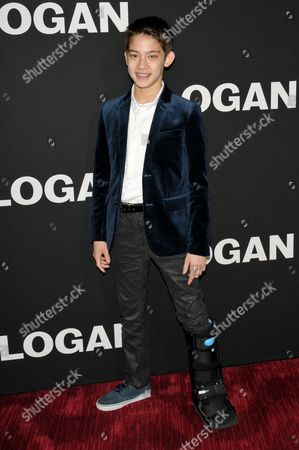 Editorial picture of 'Logan' film screening, New York, USA - 24 Feb 2017
