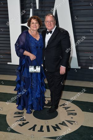 Nancy Lasseter and John Lasseter