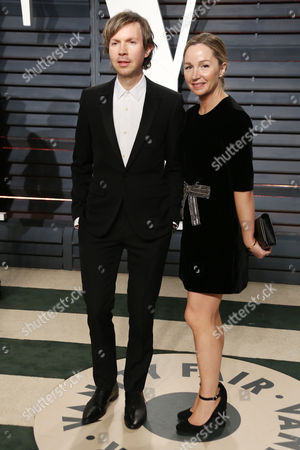 Stock Image of Beck and Marissa Ribisi