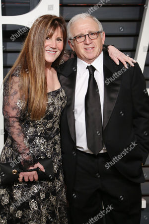 Irving Azoff and wife