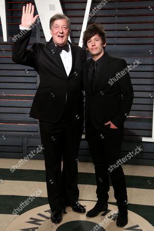 Stephen Fry and Elliot Spencer