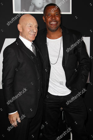 Sir Patrick Stewart and Eriq La Salle