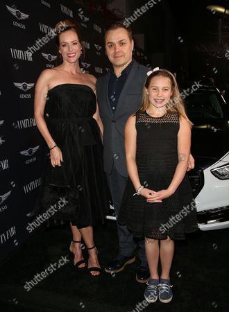 Kimberly Quinn, Theodore Melfi, daughter