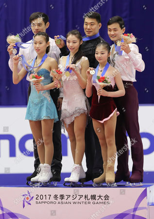 Editorial picture of Asian Winter Games Figure Skating, Sapporo, Japan - 25 Feb 2017