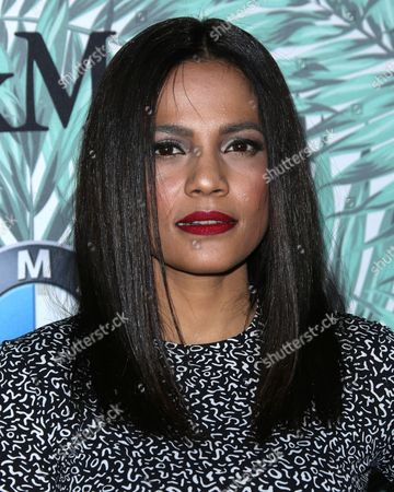 Editorial image of Women in Film cocktail party, Arrivals, Los Angeles, USA - 24 Feb 2017