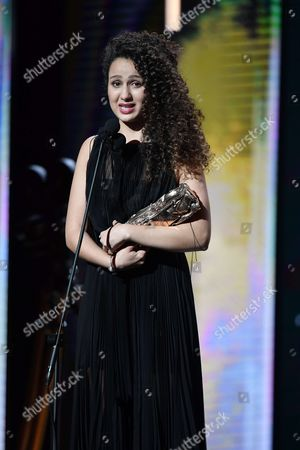 Oulaya Amamra receives Cesar Award for Most Promising Actress