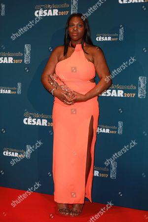 Stock Photo of Deborah Lukumuena