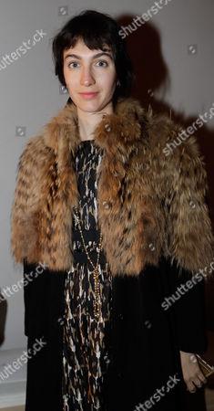 Italian designer Marta Ferri attends the Bottega Veneta women's Fall-Winter 2017-18 fashion show, in Milan, Italy