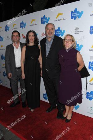 L-R: David Wood, Chelsea Martin, Greg Basser, Kiera O'Neil
