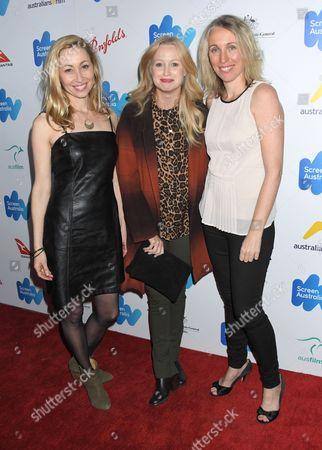 L-R: Felicity Price, Anna Lise Phillips, Simonne Overend