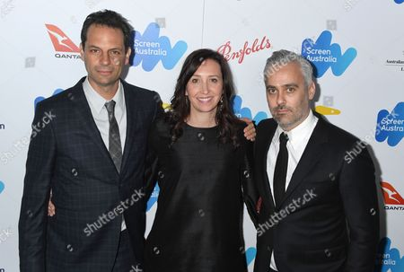 Stock Picture of Emilie Sherman, Angie Fielder, Iain Canning