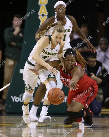 Editorial picture of Texas Tech Baylor Basketball, Waco, USA - 25 Feb 2017