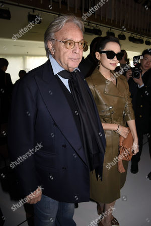 Stock Picture of Diego Della Valle and Nozomi Sasaki