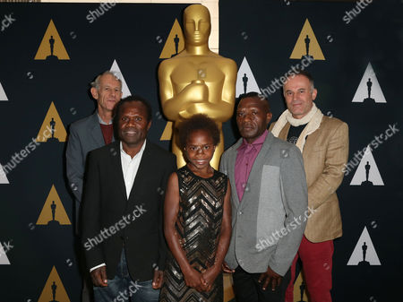 Martin Butler, Director of 'Tanna, actor Lingai Kowia, actor Marceline Rofit, Co-Cultural director Jimmy Joseph and Bentley Dean, Co-Director from Foreign Oscar Nomination 'Tanna'