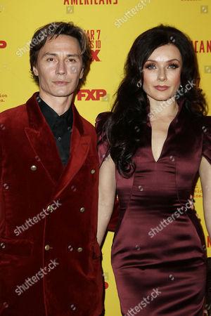 Irina Dvorovenko with Guest