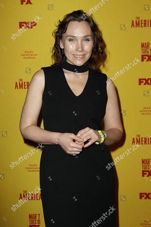 Editorial photo of FX's The Americans Season 5 Red Carpet Premiere, New York, USA - 25 Feb 2017