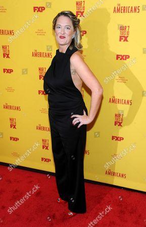 Editorial photo of 'The Americans: Season 5', TV series premiere, New York, USA - 25 Feb 2017