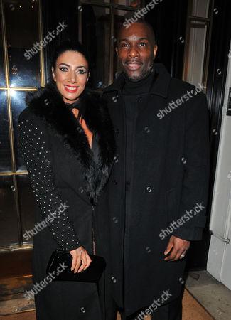 Stock Photo of Maria Yates and Derek Redmond
