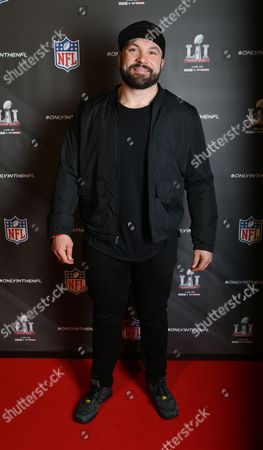 Editorial image of NFL Super Bowl party, London, UK - 01 Feb 2017