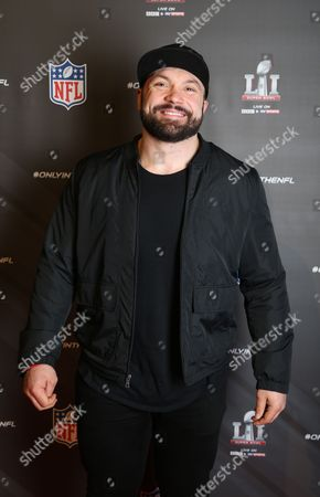 Stock Image of Former England rugby player Alex Corbisiero