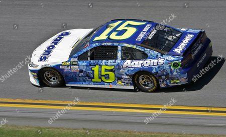 Michael Waltrip (15) drives his car during the NASCAR Daytona 500 auto race at Daytona International Speedway in Daytona Beach, Fla