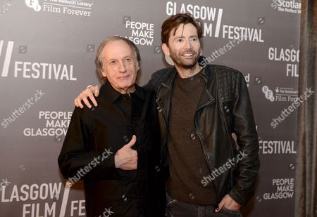 Stock Picture of David Tennant and  Robert Mullan - director