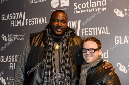 Stock Photo of Quinton Aaron and   Jonny Paterson - producer