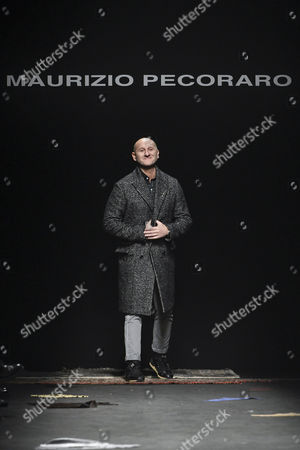 Stock Image of Maurizio Pecoraro on the catwalk