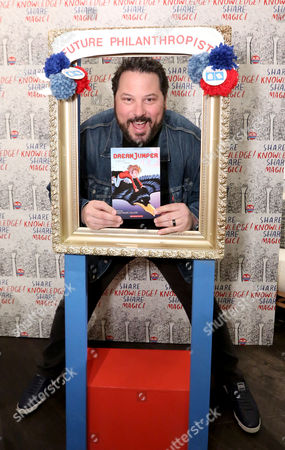 Greg Grunberg joins Milk + Bookies to raise money and books to help end childhood illiteracy at 8th Annual Story Time Celebration, in Los Angeles