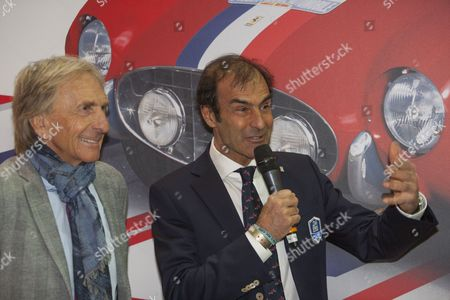 Derek Bell and Emanuele Pirro