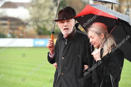 Editorial picture of Funeral of Alan Simpson, Hampton, London, UK - 27 Feb 2017