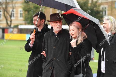 Editorial image of Funeral of Alan Simpson, Hampton, London, UK - 27 Feb 2017