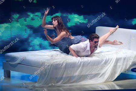 Stock Image of Christopher Leoni with Ekaterina Vaganova
