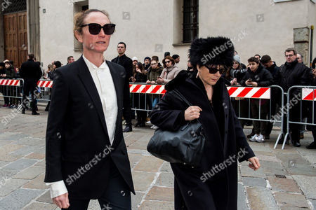 Stock Photo of Vanessa Beecroft and guest