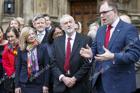 Editorial image of Parliamentary welcome for Gareth Snell, London, UK - 27 Feb 2017