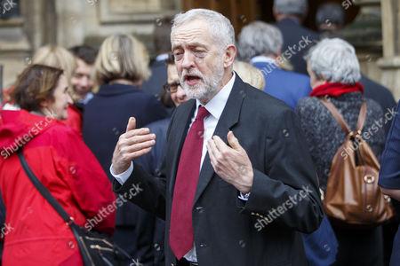 Stock Photo of Labour leader Jeremy Corbyn