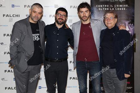 Fortunato Cerlino, Tony D'Angelo, Michael Rion, Nino D'Angelo