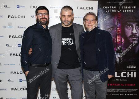 Tony D'Angelo, Fortunato Cerlino, Nino D'Angelo