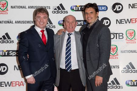 Roger Speed and Chris Coleman with director Jonny Owen