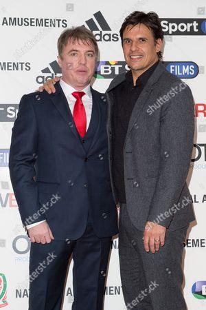 Director Jonny Owen and Chris Coleman