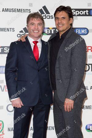 Stock Photo of Director Jonny Owen and Chris Coleman
