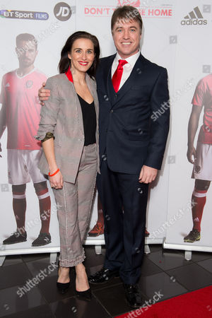 Jonny Owen and his wife Vicky McClure