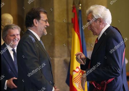 Mariano Rajoy and Luis del Olmo