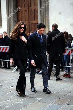 Matteo Marzotto and fiancee
