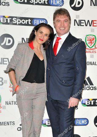 Stock Image of Vicky McClure and Jonny Owen