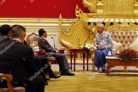 Editorial photo of Deputy Prime Minister of Cambodia visits Myanmar - 28 Feb 2017