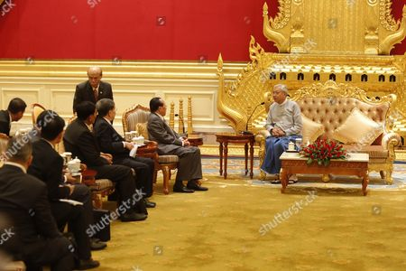 Editorial image of Deputy Prime Minister of Cambodia visits Myanmar - 28 Feb 2017