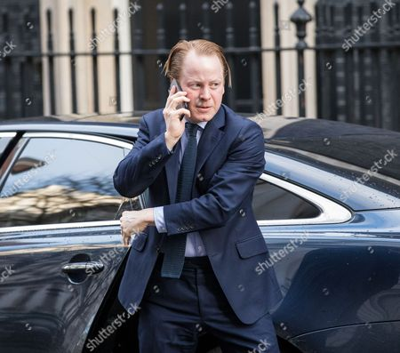 Paymaster General Ben Gummer arrives on Downing Street for the weekly Cabinet meeting.