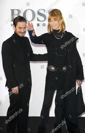 Clemens Schick and Gräfin Veruschka von Lehndorff